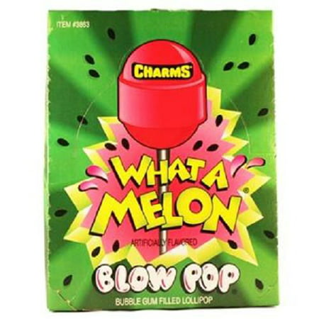 Charms What-a-Melon Blow Pops 48 Count