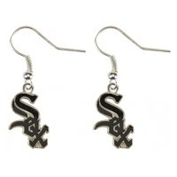 MLB Earrings Dangle Charm Team Logo PICK YOUR TEAM w/Gift Box