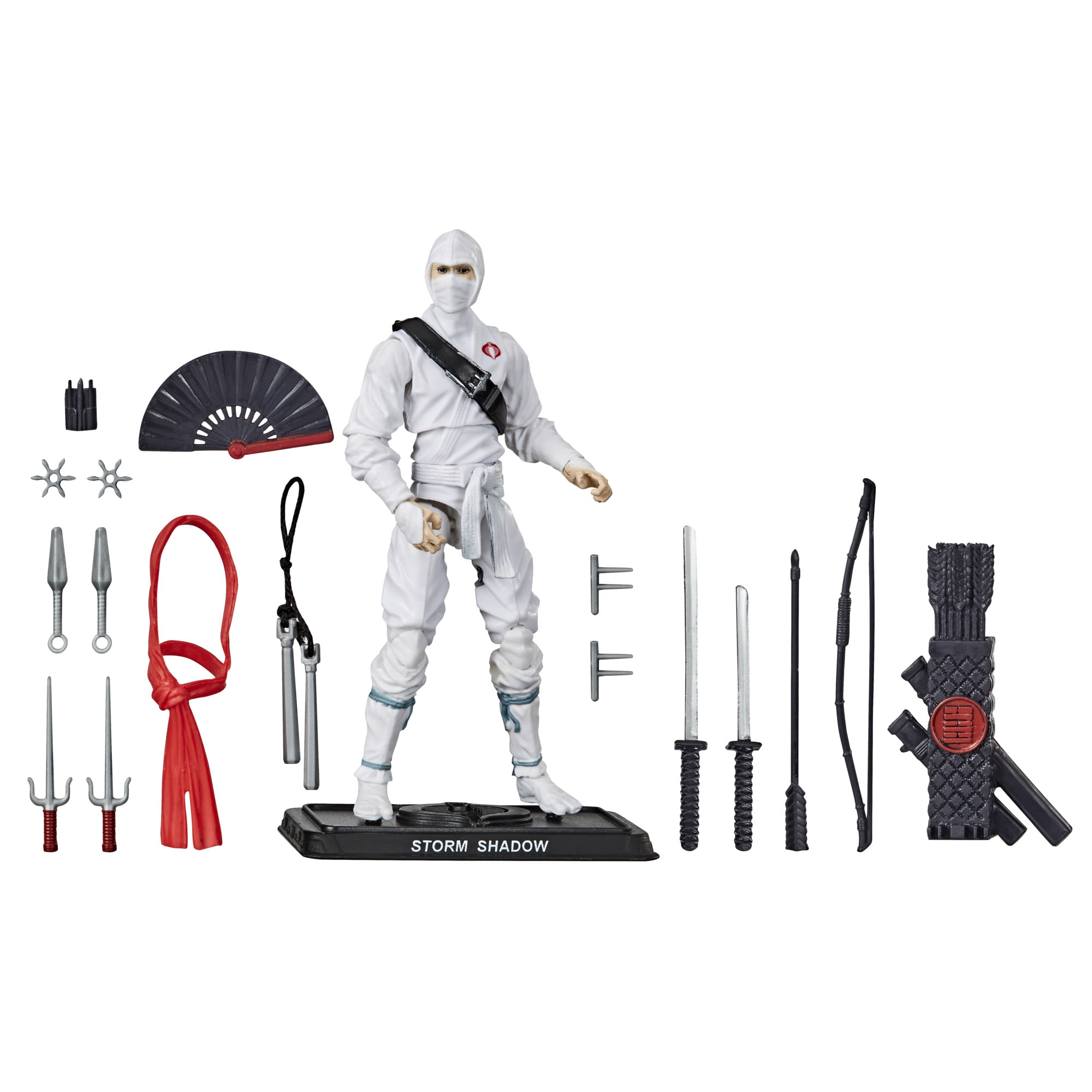 G.I. Joe Retro Collection Storm Shadow 3.75-inch Action Figure, Includes 14 Accessories