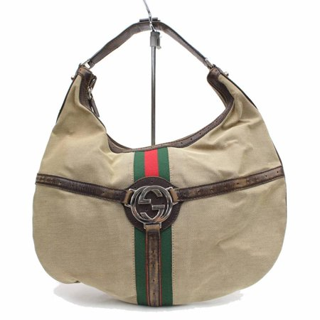 Gucci Sherry Web Interlcocking Reins Hobo 868707