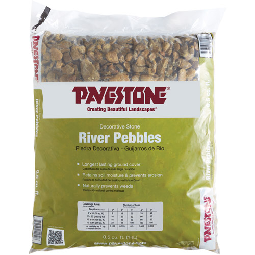 Pavestone .5 cu. ft. River Pebbles