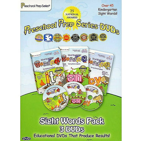 Preschool Prep Series: Meet The Sight Words Box Set (Full Frame)