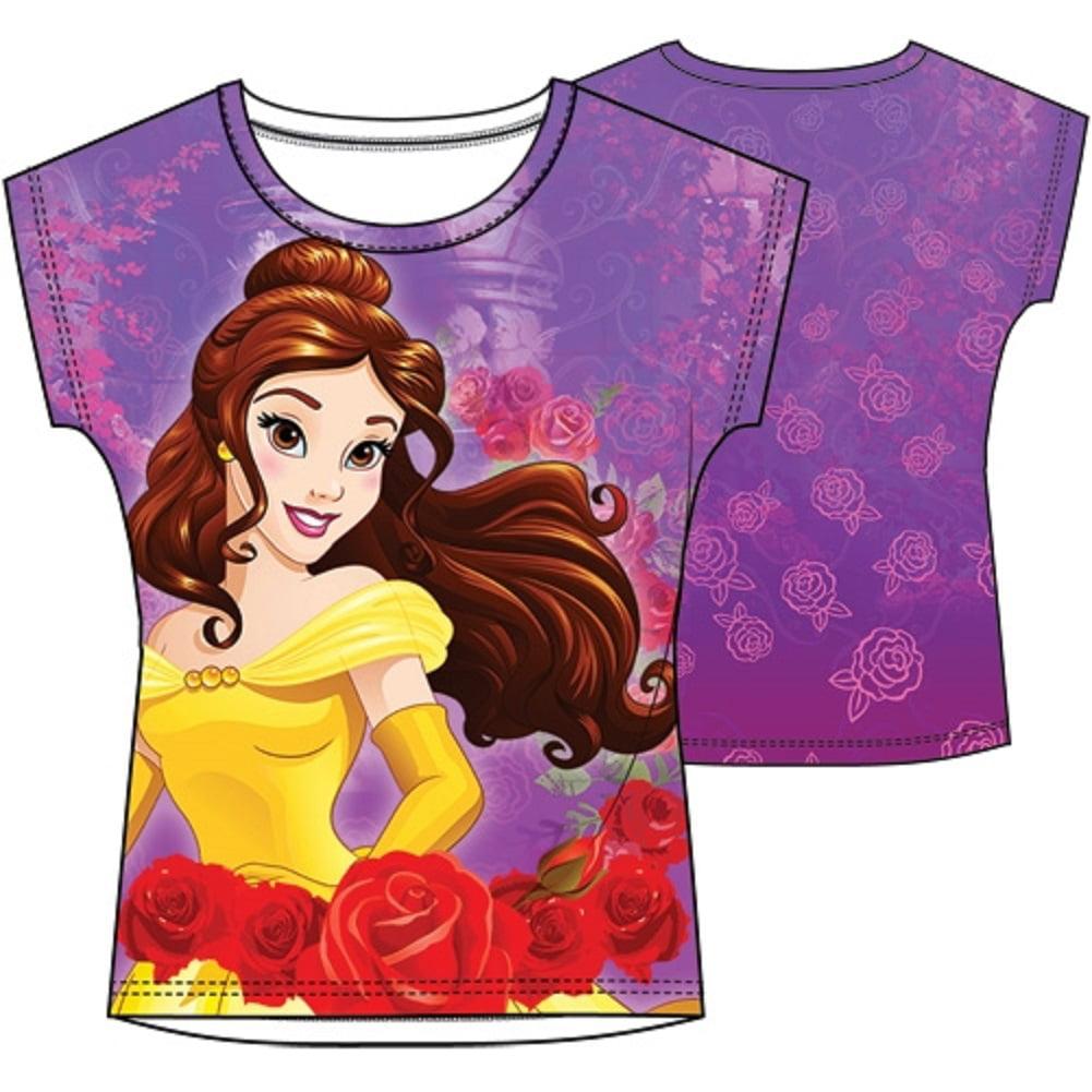 Disney Princess Girls' Belle Sublimated Top