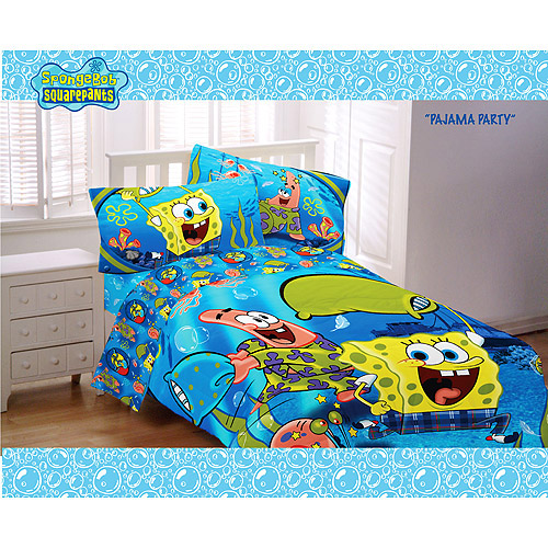 Nickelodeon - SpongeBob Pajama Party Twin Comforter