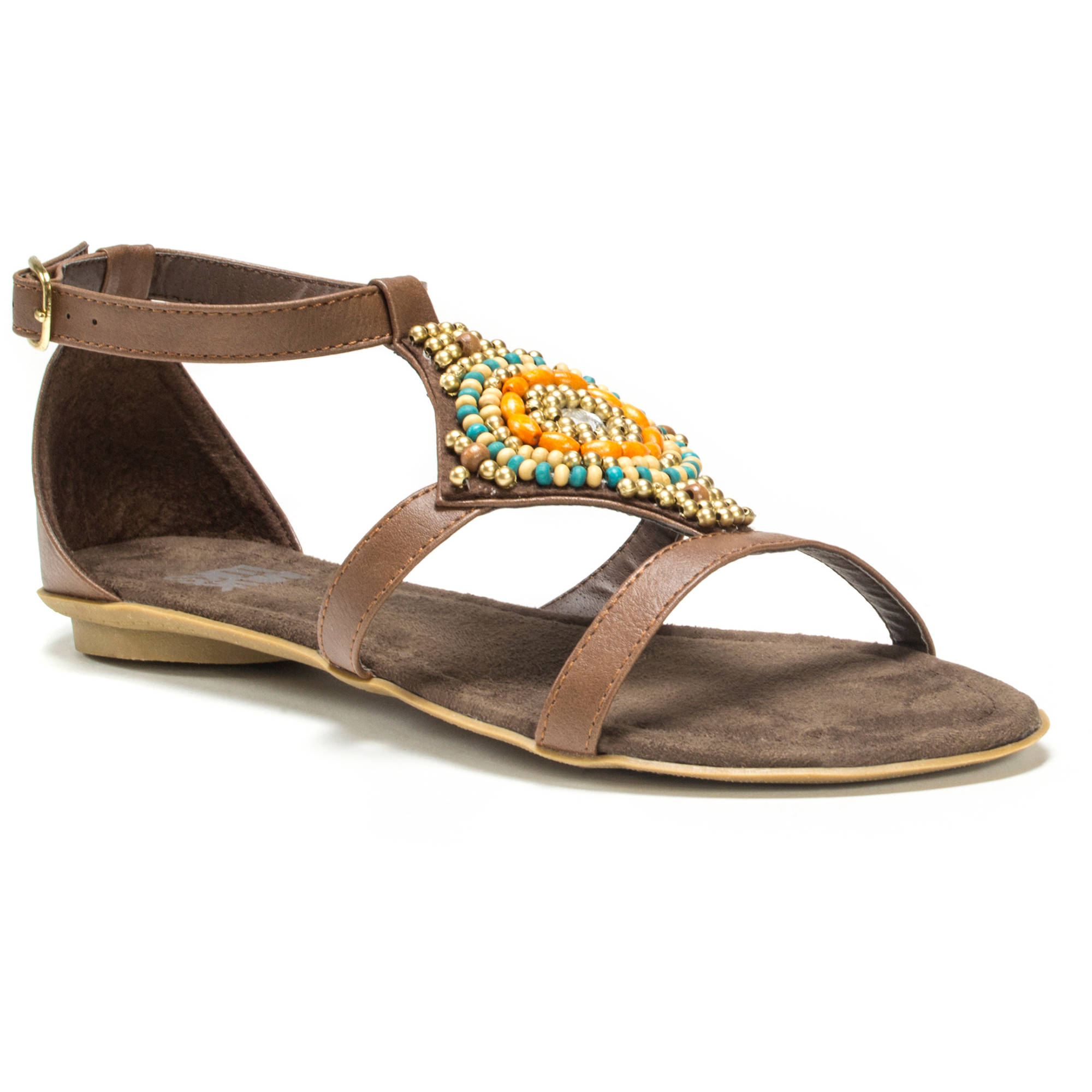 MUK LUKS Women's Lisa Beaded Sandals