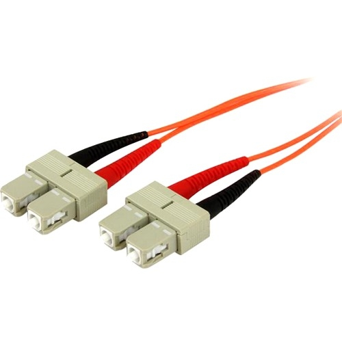 StarTech 3m OFNP Plenum Multimode 50/125 Duplex Fiber Patch Cable