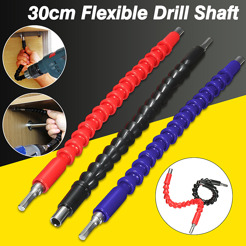 300m Flexible Shaft Bits Extention Screwdriver  Socket Key Drive Holder Snake Connect Link for Electronics Drill