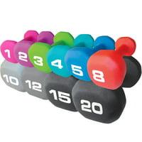 fitness gear 1 lb neoprene dumbbell