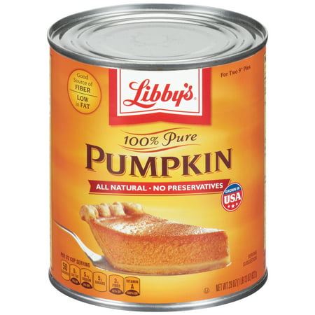 (2 Pack) Libby's 100% Pure Canned Pumpkin, 29 oz