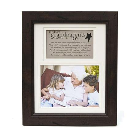 Great-Grandparents Poem Walnut Frame Holds 5x7 Photo - Walmart.com