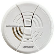 BRK CO250 Battery Operated Carbon Monoxide Detector With 9-Volt Battery & Two Silence Features