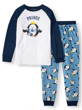 Matching Family Pajamas Boys 2-Piece Penguin Sleep Set