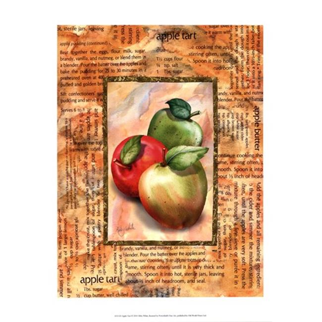 Old World Prints OWP45311D Apple Tart Poster Print by Abby White -13 x 19 - image 1 of 1