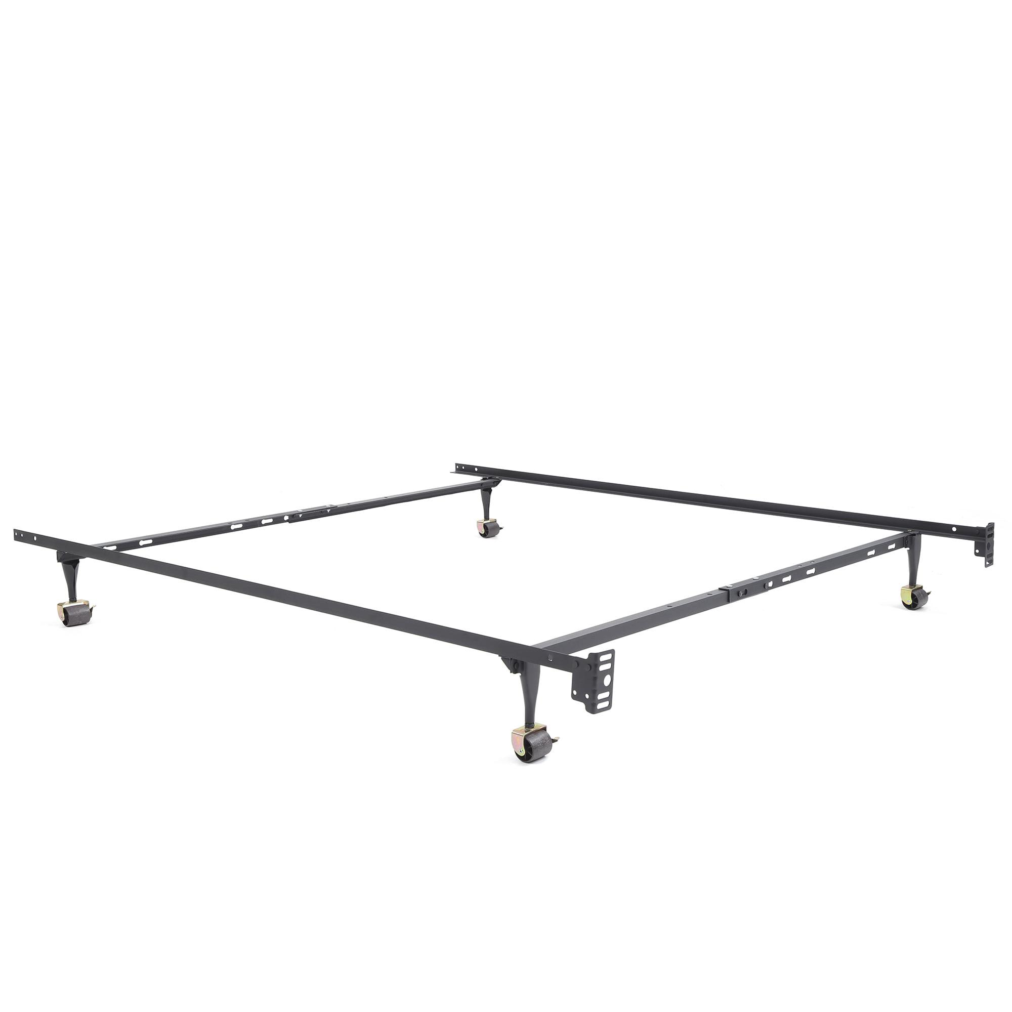 Modern Sleep Standard Adjustable Metal Bed Frame Multiple Sizes Walmart Com Walmart Com
