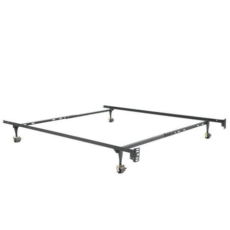 Modern Sleep Standard Adjule Metal Bed Frame Multiple Sizes