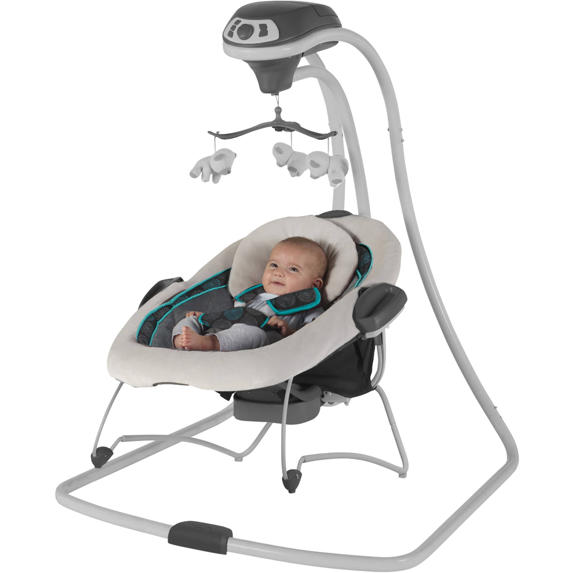 Graco Duetconnect Swing Baby Bouncer Bristol Removable