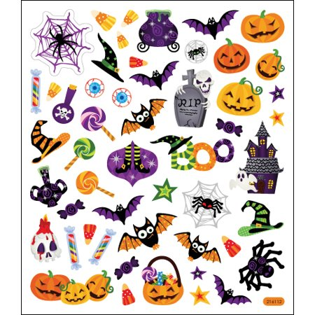 Multicolored Stickers-Halloween Icons