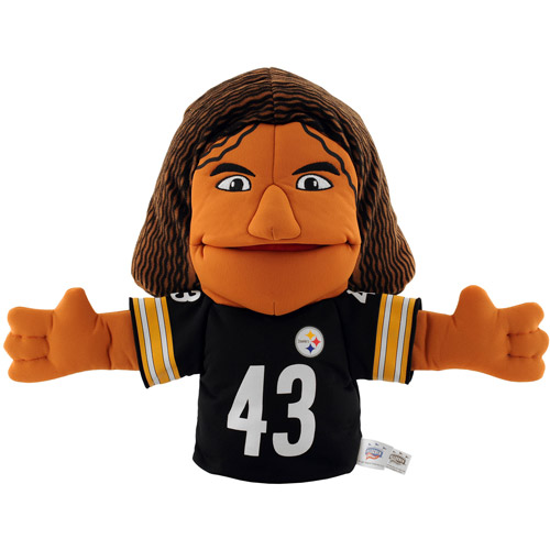NFL Pittsburgh Steelers Troy Polamalu Hand Puppet