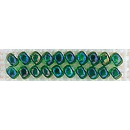 Mill Hill Glass Seed Beads Economy Pack 2.5mm 9.08g-Emerald