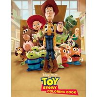 Toy Story Coloring Book : Great 31 Illustrations for Kids (Paperback)