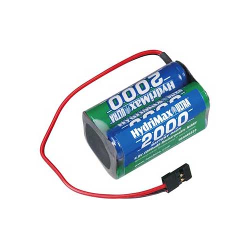 HydriMax 4.8V 2000mAh NiMH Square AA Rx U Multi-Colored