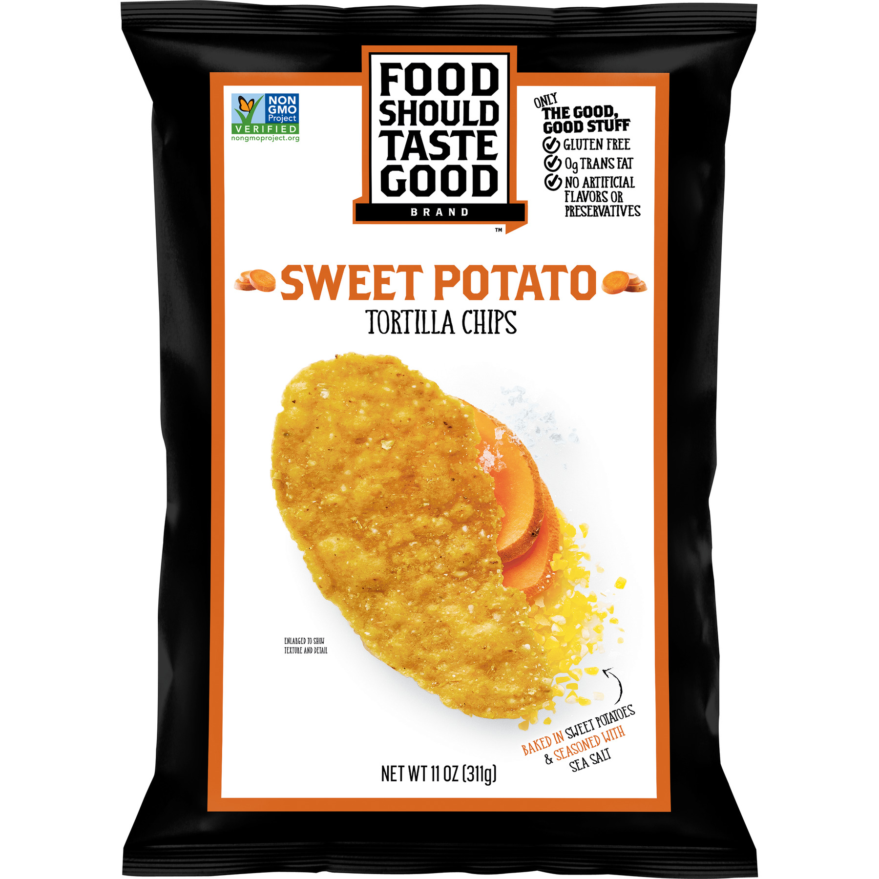Food Should Taste Good Sweet Potato Tortilla Chips, 11 oz