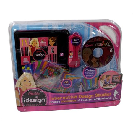 Fashion Design Studio (Barbie idesign Ultimate Stylist Interactive Design Studio ~ Create tons of Fashion)