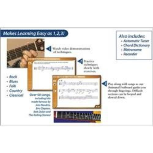 Emedia Music Intermediate Guitar Method - V.3.0 - Music Training Course - Intermediate Level (eg10112)