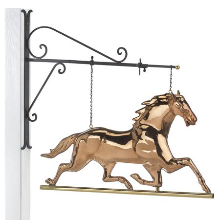 - Good Directions Hanging Horse Wall Décor, Pure Copper - 35