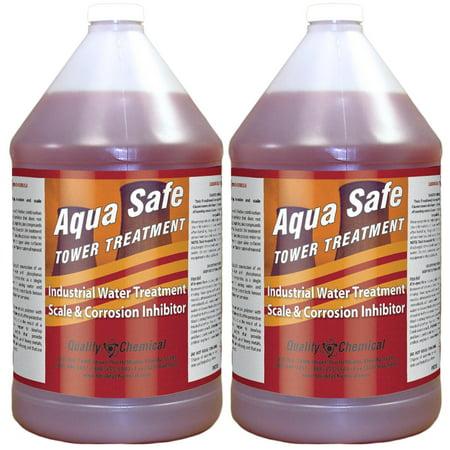 Aqua Safe Tower Treatment - 2 gallon case