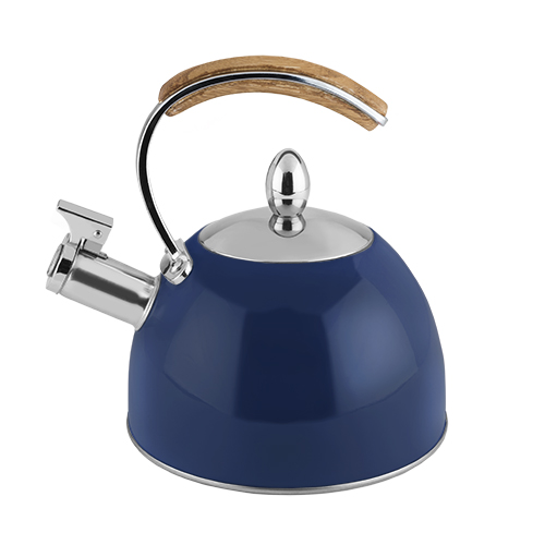 Presley Navy Tea Kettle by Pinky Up