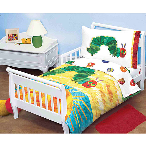The Very Hungry Caterpillar Four Piece Bedding Set