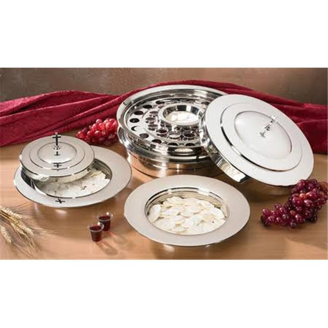 CBCS PD375SLV Communion Tray Cover, Silver