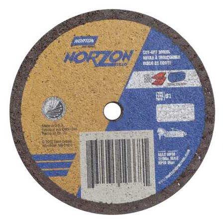 NORTON 66243510668 CutOff WheelNorZon Plus3 x 035 x1 4