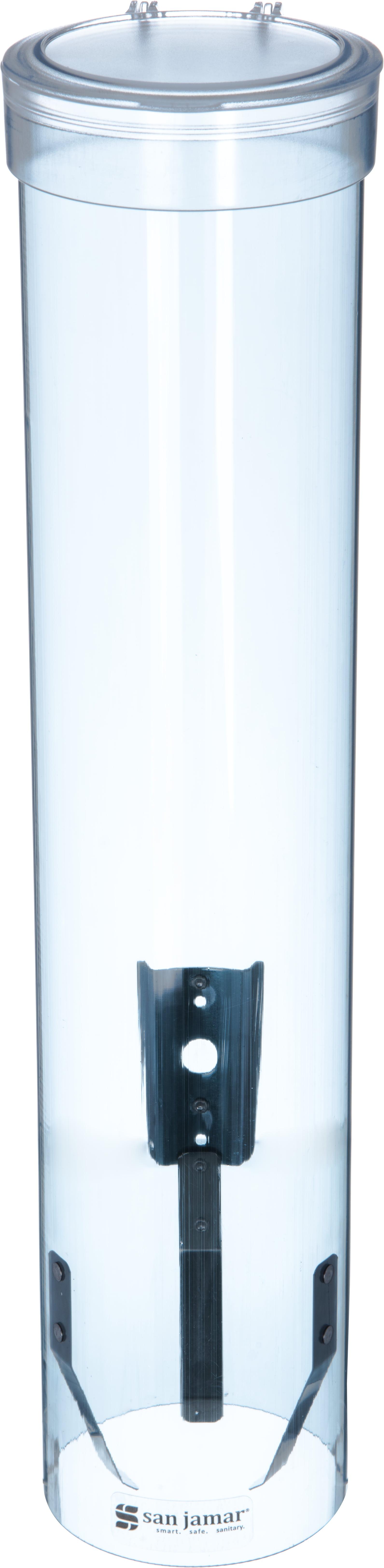 San Jamar C4210PFSD Foam Cup Dispenser w//Removable Cap Sand Pull-Type