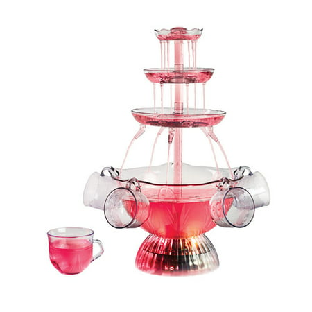 Nostalgia LPF150 Vintage Collection Lighted Party Fountain, - Chocolate Fountain For Sale