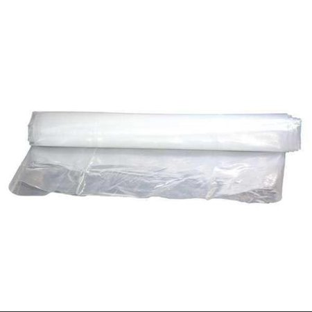 AIR SYSTEMS SVH-LF8 Lay Flat Duct, Polyeth, White, 750 ft.