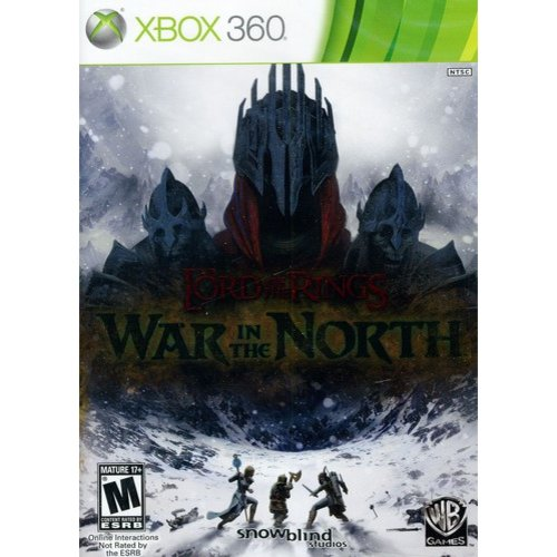 Lord of the Rings: War in the North (Xbox 360) Warner Bros., 883929131440