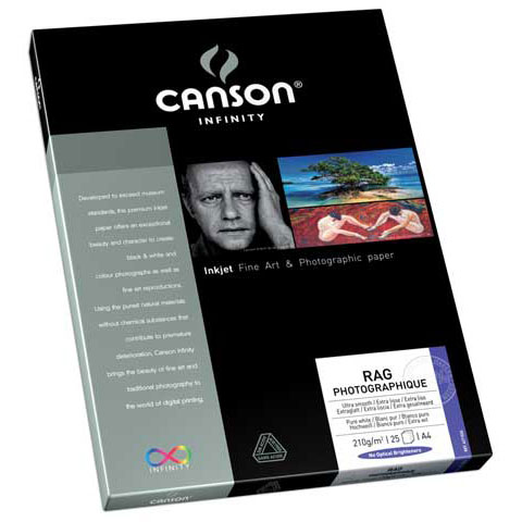 CANSON Infinity Rag Photographique Photo Paper - 210 gsm ...