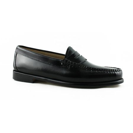 f0114f471a8 Womens Weejuns G.H. Bass   Co. Whitney Penny Loafers - Black Leather -  Walmart.com