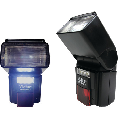 Vivitar VIV-DF-7000-CAN DSLR AF Flash/LED Video Light for Canon