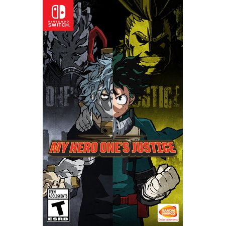 My Hero One's Justice, Bandai/Namco, Nintendo Switch, 722674840101