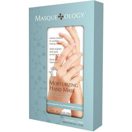 Masqueology Moisturizing Hand Masks, 0.6 oz, 3 -