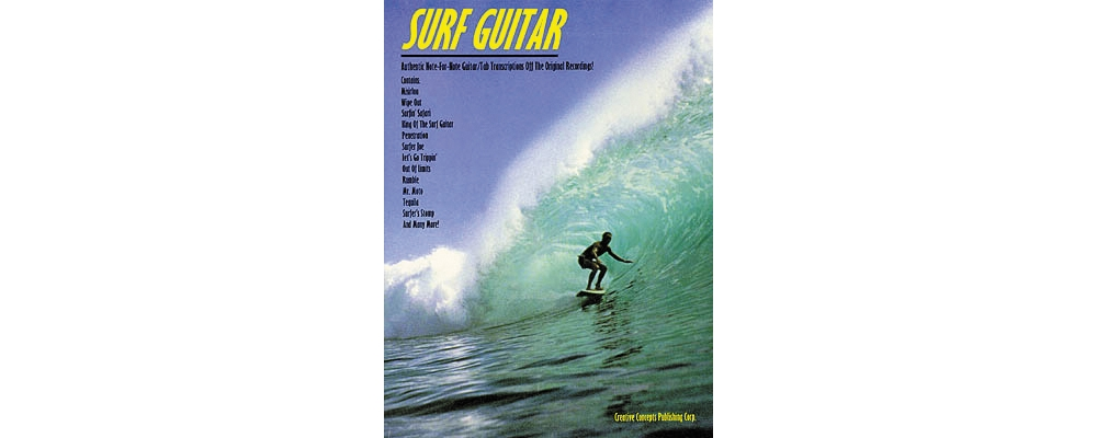 Creative Concepts Surf Guitar Tab Songbook by Creative Concepts