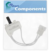 3406107 Dryer Door Switch Replacement for Whirlpool WGD5810SW0 Dryer - Compatible with WP3406107 3406109 Door Switch - UpStart Components Brand