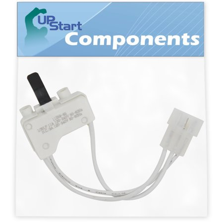 3406107 Dryer Door Switch Replacement for Maytag MGDX500XL1 Dryer - Compatible with WP3406107 3406109 Door Switch - UpStart Components Brand ()