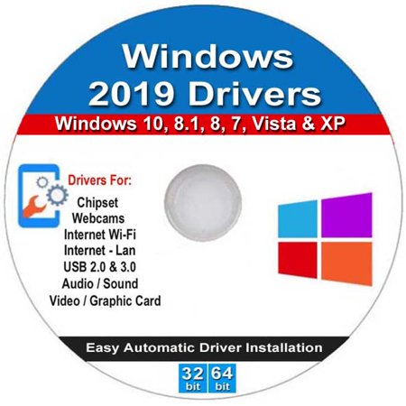 Windows Home 32/64 bit Install, Repair, Recovery & Restore USB Flash Drive with 2019 Drivers DVD