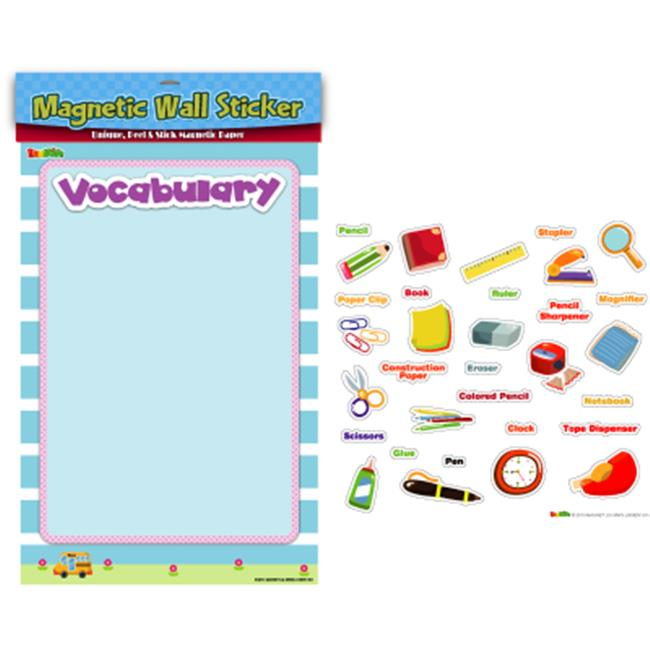 American Educational Products MAG-106 Stationary Vocabulary Magnetic Wall Sticker
