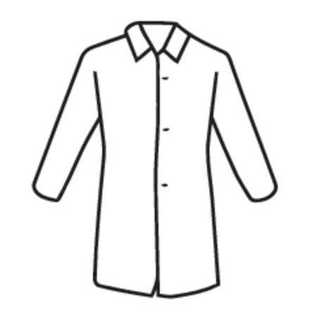WEST CHESTER PROTECTIVE GEAR 3511/XXL Disposable Lab (Impact Disposable Lab Coats)