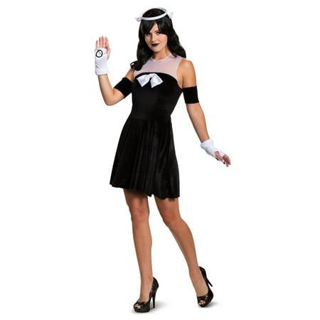 Charlies Angels Halloween Costume (Halloween Bendy and the Ink Machine Alice Angel Classic Adult)